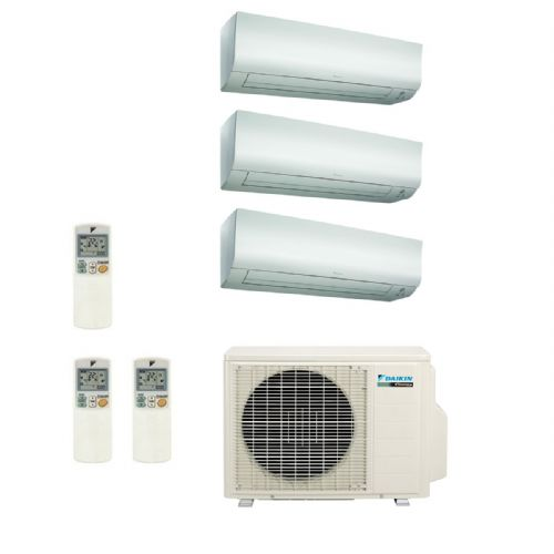 Daikin Air conditioning Multi 3MXS52E Heat Pump Inverter 3 x FTXS25K Wall Mounted A+++ 240V~50Hz